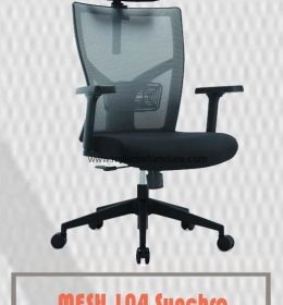 jual kursi kantor carera mesh 104 synchro