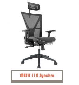 jual kursi kantor carera mesh 110 synchro